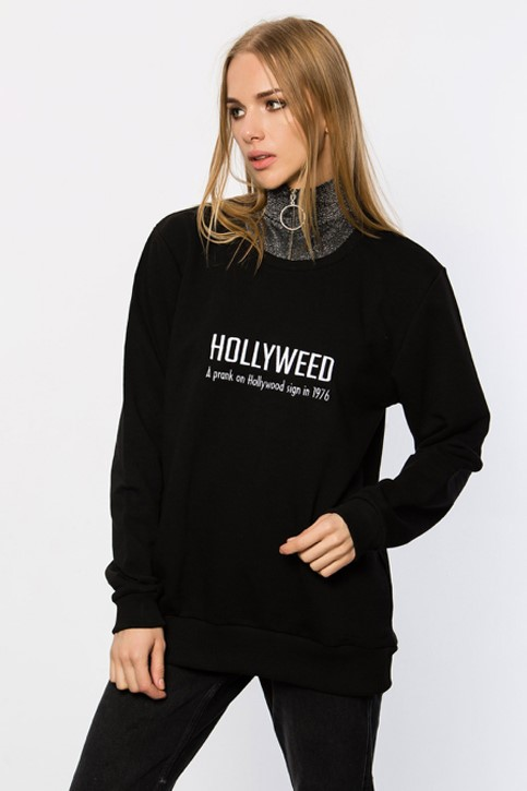 Show details for FINEAPPLE-HOLLYWEED SWEATSHIRT